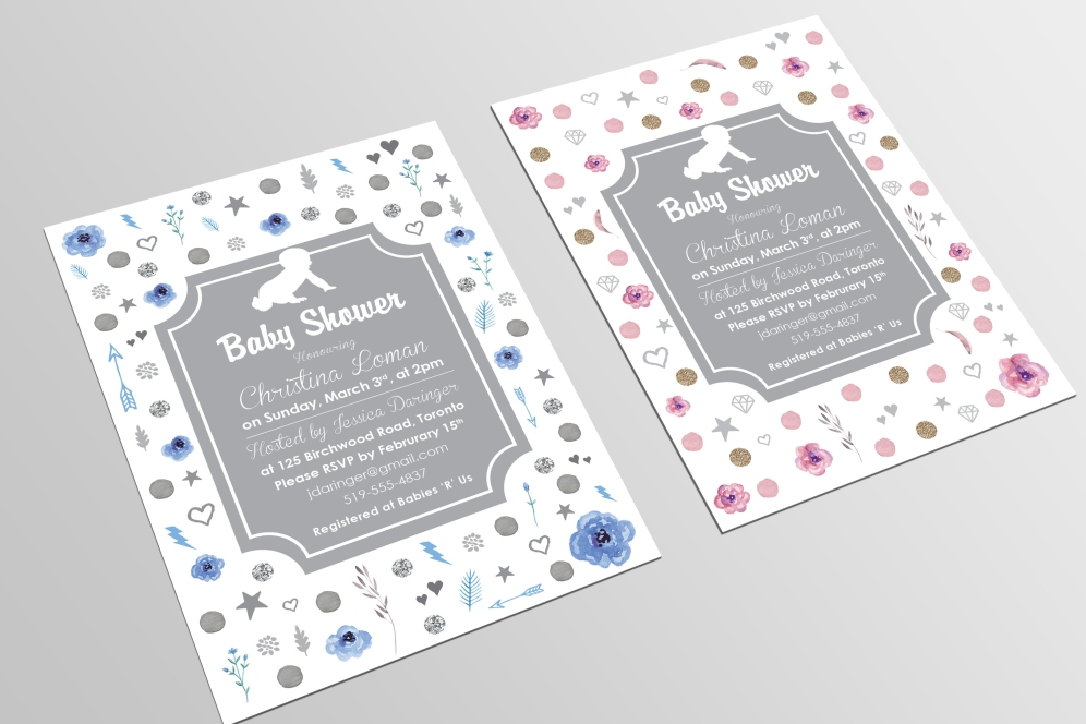 Baby Shower Invitation Designs