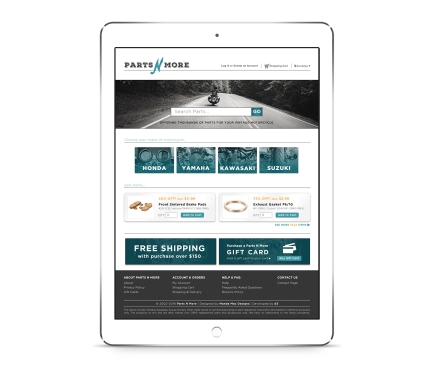 Parts N More - Website Redesign